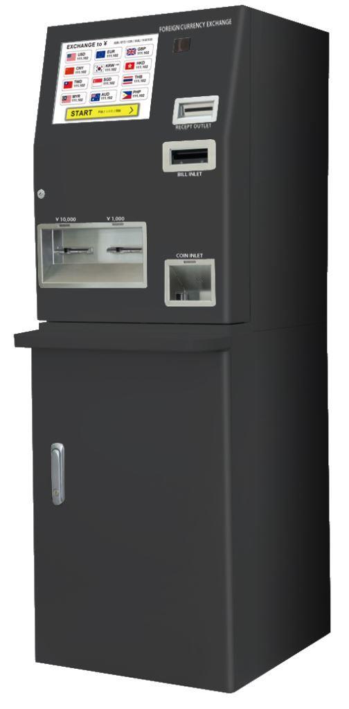 外貨両替機ATM型(Cタイプ)の画像
