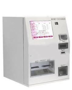 外貨両替機卓上ATM型の画像