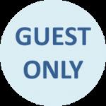 宿泊者限定のロゴ