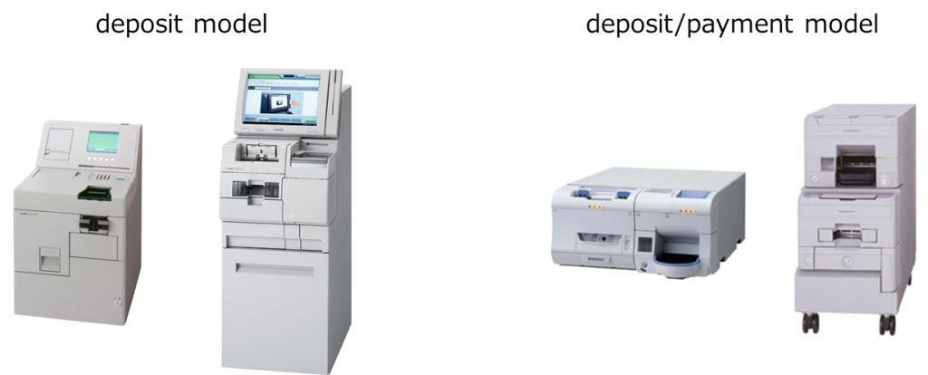 money deposit machine